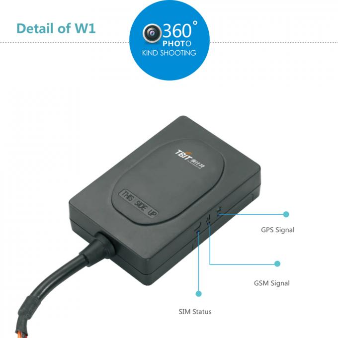 GSM / GPRS GPS Tracking Device For Motorcycle , Small Motorbike GPS Tracker