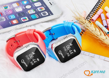 Nano Waterproof Child Locator Watch With SOS Alarm / Direct Phone Calling