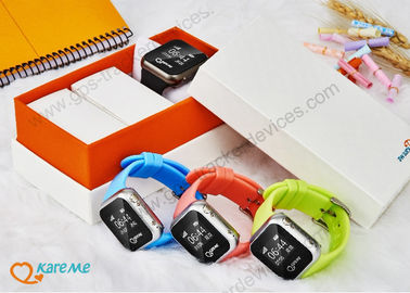 GSM Touch Screen Watch Phone With GPS Tracking For Kids Support Nano Sim Card
