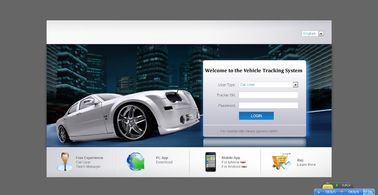 Fleet Management GPS Tracking Server Software , GPS Tracker Platform Google Map